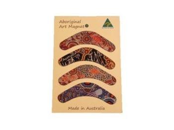 Aussie Fridge Magnets Boomerang