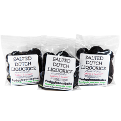Black Coins Salted Dutch Licorice