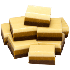 Chocolate Caramel Vanilla Fudge