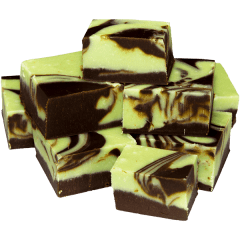 Chocolate Peppermint Fudge