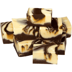 Chocolate Vanilla Fudge