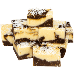 Coconut Rough Fudge