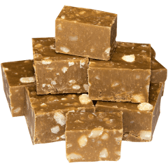 Coffee Macadamia Fudge