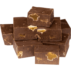 Dark Chocolate Ginger Fudge