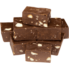 Dark Chocolate Macadamia Fudge