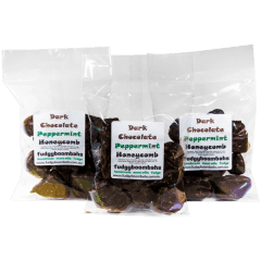 Dark Chocolate Peppermint Honeycomb