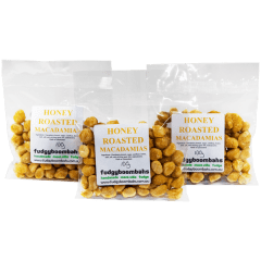 Honey Roasted Macadamias