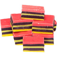 Licorice Allsorts Fudge