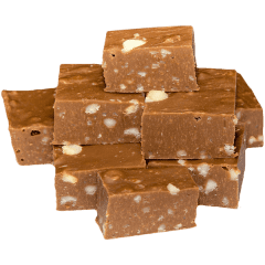 Milk Chocolate Macadamia Fudge