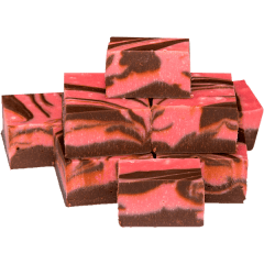 Raspberry Ripe Fudge