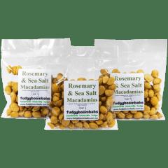 Rosemary & Seasalt Macadamias