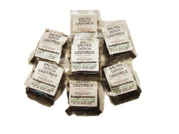 Salted Dutch Licorice