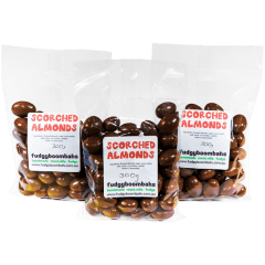 Chocolate Coated Scorched Almonds