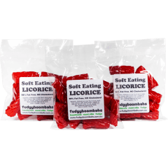 Soft Eating Red Licorice