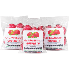 Strawberry Sherbets