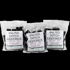 Triple Salt Salted Dutch Licorice